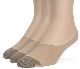 ChanPell Women's Cotton Comfort No Show Liner Socks - 3 Pairs