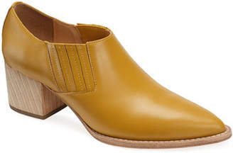 Bill Blass Tina Smooth Leather Ankle Booties