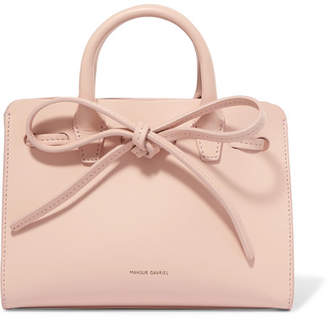 Mansur Gavriel Sun Mini Mini Leather Tote - Blush