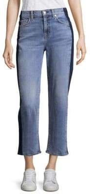 7 For All Mankind KiKi Cropped Straight Jeans
