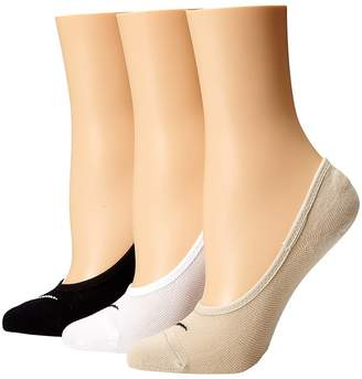 Nike 3 Pair Pack Lightweight Footie Women's No Show Socks Shoes