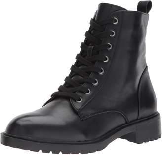 Steve Madden Women's Officer Combat Boots