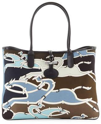 Longchamp Roseau Galop Tote Bag