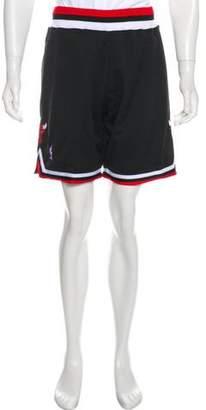 Mitchell & Ness Bulls Appliqué Shorts w/ Tags