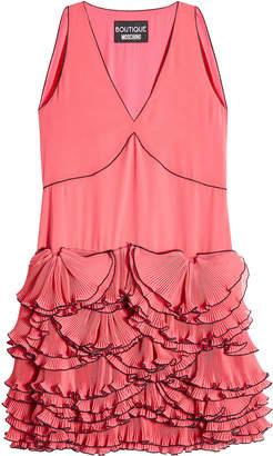 Moschino Ruffled Sleeveless Dress
