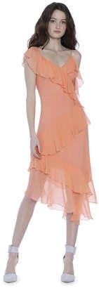 Alice + Olivia Olympia Asymmetrical Dress
