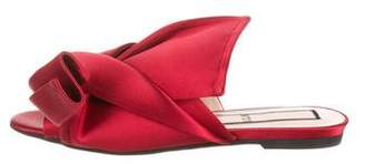 No.21 No. 21 Satin Knot Slide Sandals w/ Tags