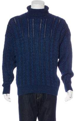 Gant Cable Knit Turtleneck Sweater