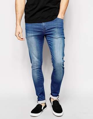 Asos Design Super Skinny Jeans in Jersey
