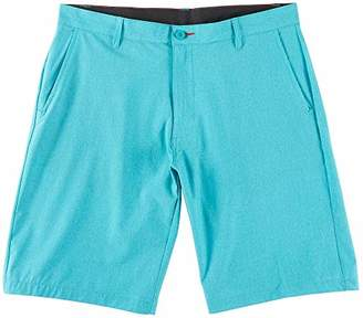 Burnside Men's World Core Stretch Hybrid Quick Drying Modern Fit Short