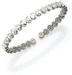 John Hardy Palu Sterling Silver Slim Flex Cuff Bracelet