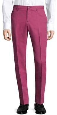 Etro Flat-Front Slim-Fit Trousers