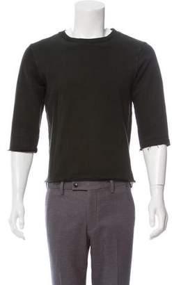 Robert Geller Cut-Off Sweatshirts