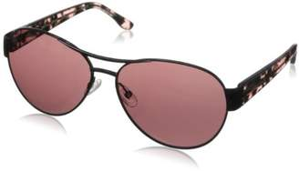BCBGMAXAZRIA Women's Feisty Aviator Sunglasses