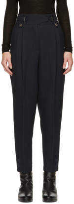 3.1 Phillip Lim Blue Belted Trousers
