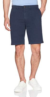 "Goodthreads Men's 9"" Inseam Flat-Front Stretch Chino Shorts"