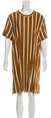By Malene Birger Striped Knee-Length Dress