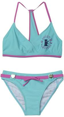 Juicy Couture Juicy Scottie Triangle Two Piece Swimsuit for Girls