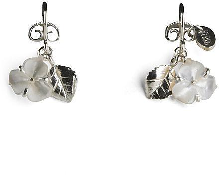Wouters & Hendrix Floral Hook Earrings