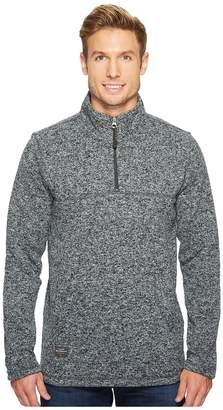 Quiksilver Waterman Mormont Tre 1/4 Zip Pullover Men's Long Sleeve Pullover