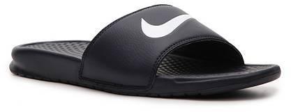 Nike Benassi Swoosh Slide Sandal - Mens