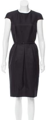 Valentino Wool-Blend Pleated Dress w/ Tags