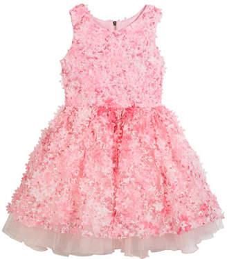 Zoe 3D Flower Party Dress, Size 7-16