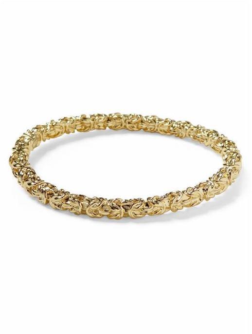Kenneth Jay Lane Gold Chain Bangle