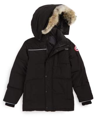 Canada Goose Eakin Genuine Coyote Fur Trim Down Parka