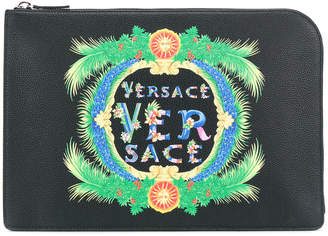 Versace Beverly Palm clutch bag