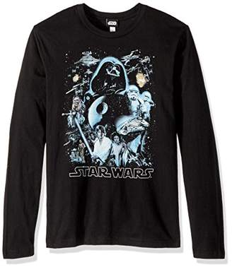 Star Wars Unisex-Adult's Men's Galaxy of Graphic T-Shirt