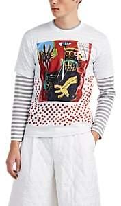 Comme des Garcons Men's Graphic Cotton T-Shirt - White