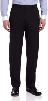 Haggar Men's Solid Plain Front Suit Separate Pant