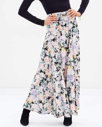Gardenia Panelled Maxi Skirt