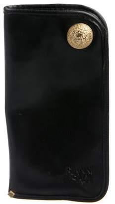 Gianni Versace Leather Sunglasses Case