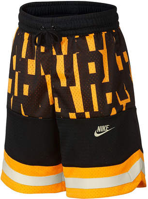 Nike Big Boys Air Colorblocked Mesh Logo Shorts