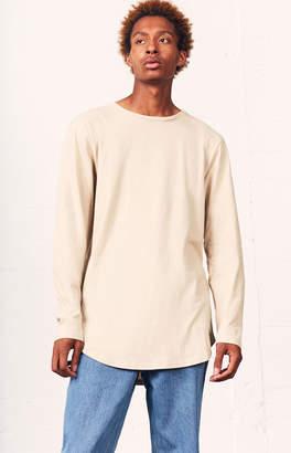 GUESS Pacsun Darhan Long Sleeve Scallop T-Shirt