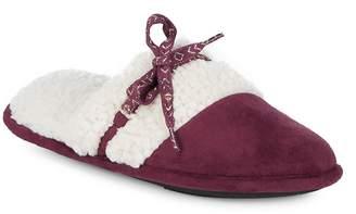 Isotoner Women's Microsuede Slippers