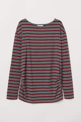 H&M MAMA Jersey Top - Gray
