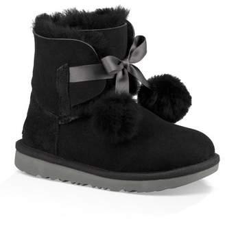 UGG Gita Genuine Sheepskin Lined Boot (Toddler & Little Kids)