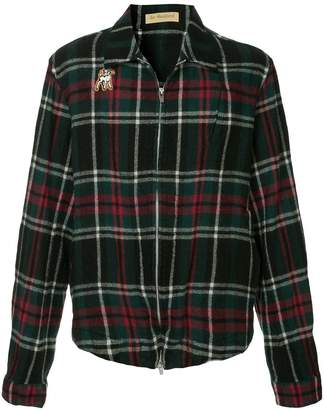 Undercover check print jacket