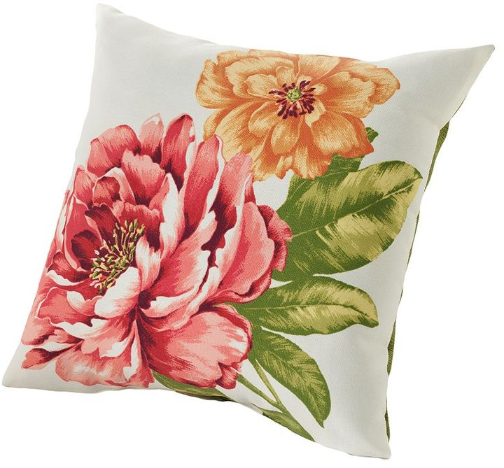 Croft & barrow® floral outdoor decorative pillow