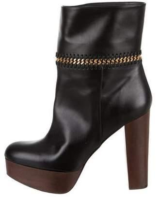 Stella McCartney Platform Chain-Link Boots