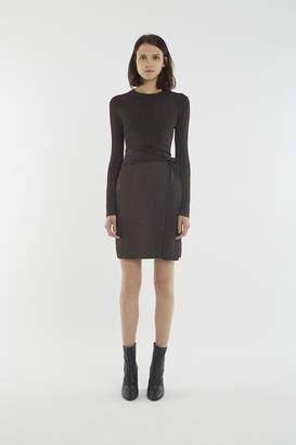 3.1 Phillip Lim Wrap-Waist Ribbed Dress