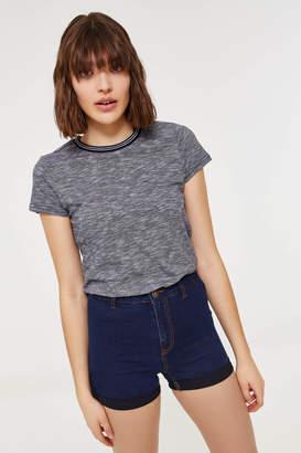 Ardene Basic Cuffed Jean Shorts
