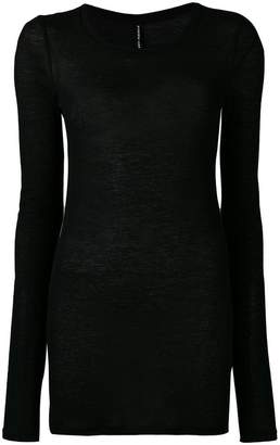 Isabel Benenato long fitted top