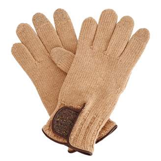 Gizelle Renee - Theodore Brown Wool Gloves With Brown Speckle Wool