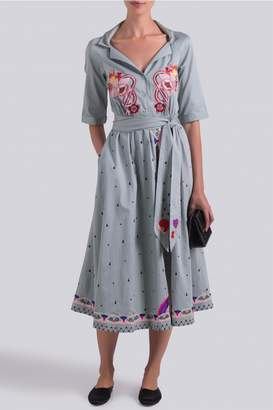 Temperley London Divine Wrap Dress