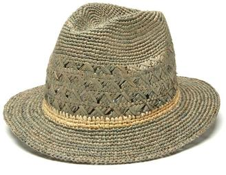 Mar Y Sol Avery Crocheted Fedora $109 thestylecure.com