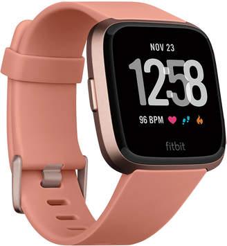 Fitbit VersaTM Peach Band Touchscreen Smart Watch 39mm